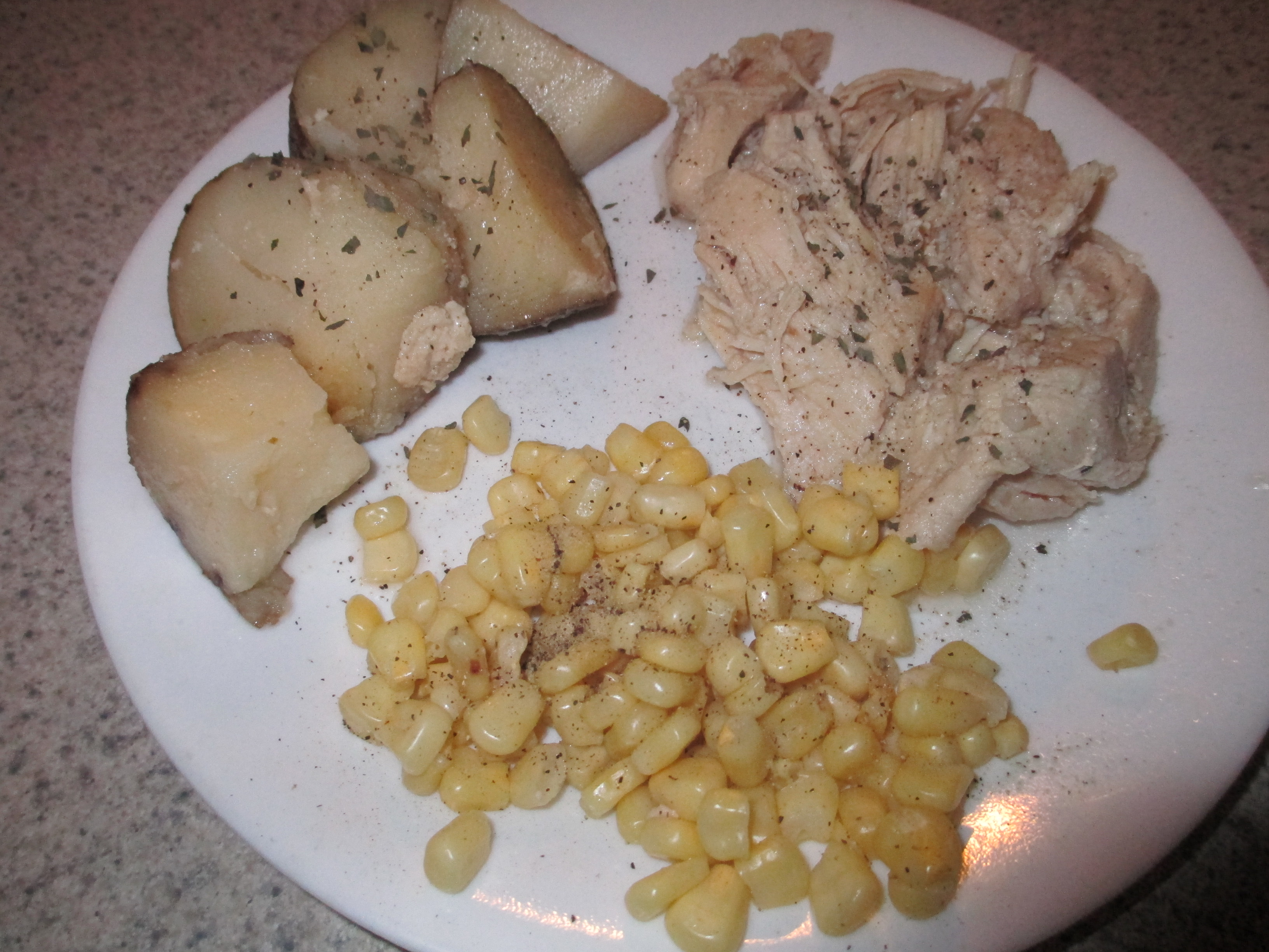 Italian Crockpot Chicken and Potatoes
