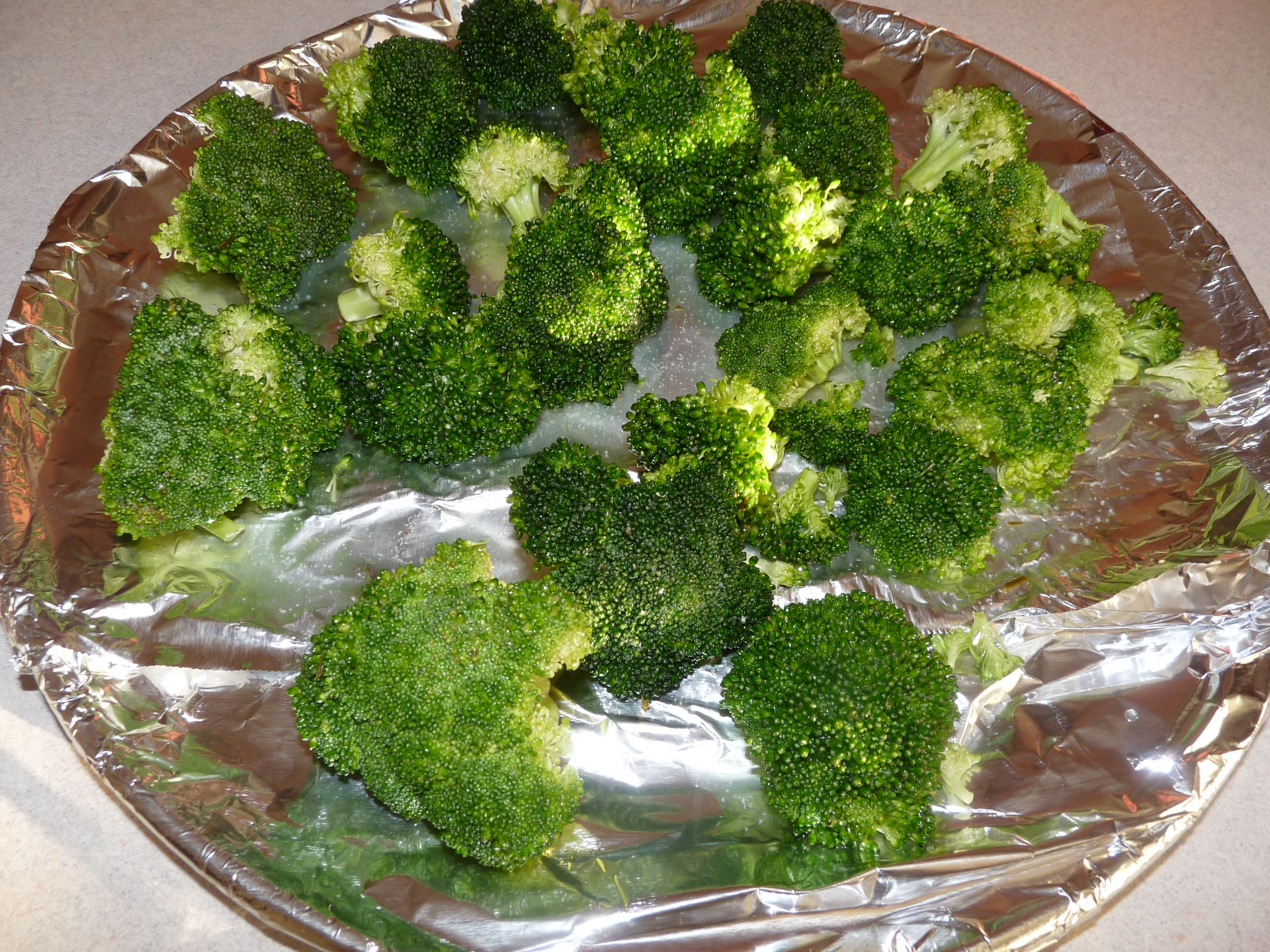 Baked Broccoli